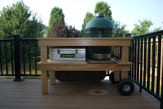 big green egg table plans with doors
